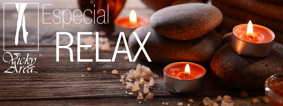 Vicky Area; Especial Relax último miércoles de cada mes