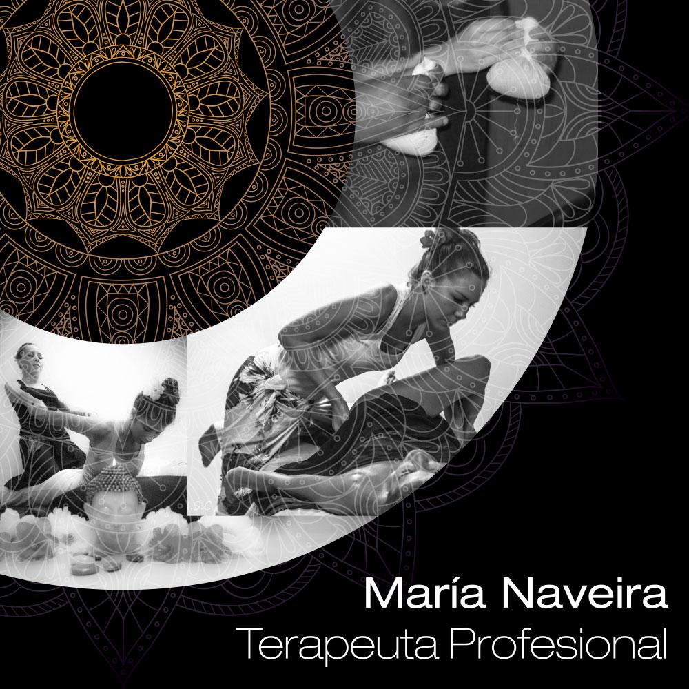 Vicky Area; María Naveira Terapeuta Profesional